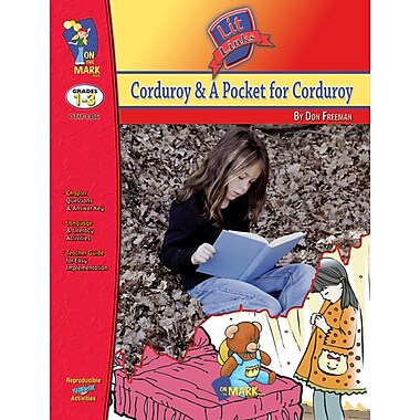 Corduroy and a Pocket for Corduroy Lit Link, Grade 1-3