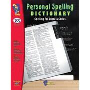 Personal Spelling Dictionary, 2e à 5e années