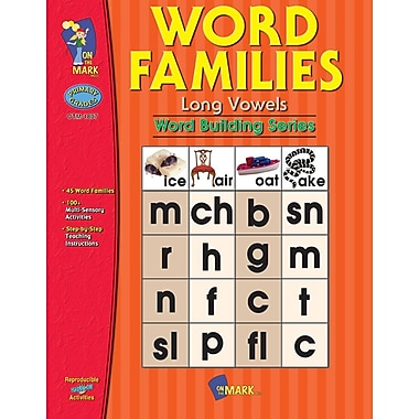 Word Families Long Vowels, Grade 1-2