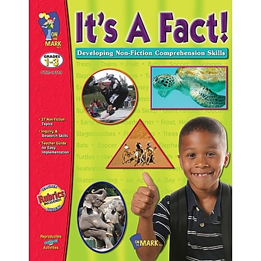 It's A Fact! Developing Non-Fiction Comprehension Skills, Grade 1-3