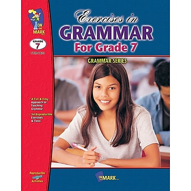 Exercises in Grammar Book for Grades 7 & 8