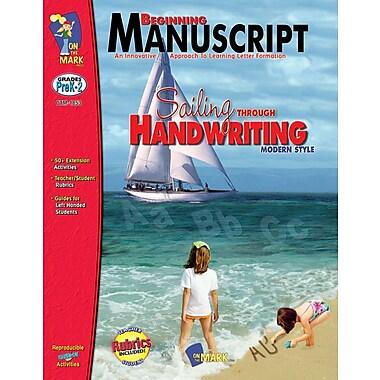 Beginning: Manuscript Modern Style, Grade PreK-2