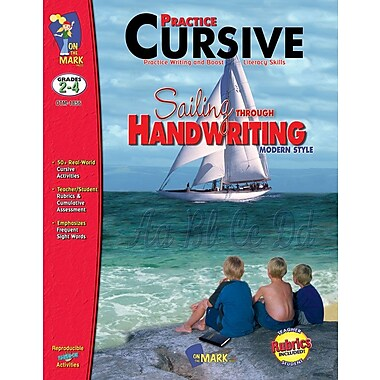 Practice: Cursive Modern Style, Grade 2-4