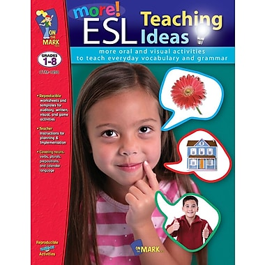 More ESL Teaching Ideas, Grade 1-8