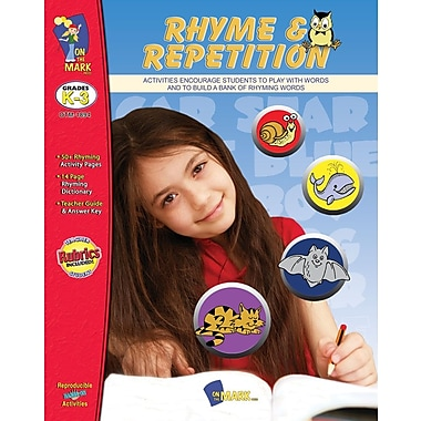 Rhyme and Repetition, Grade PreK-2