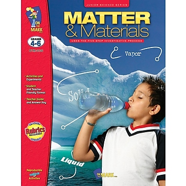 Jr. Science Series: Matter and Materials, Grade 4-6