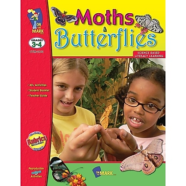 Moths and Butterflies, Grade 3-4