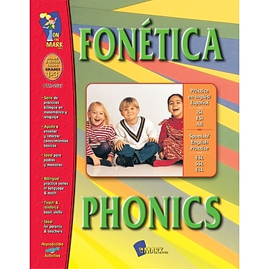 A Bilingual Skill Building Workbook: Fonetica/Phonics, Grades 1-3