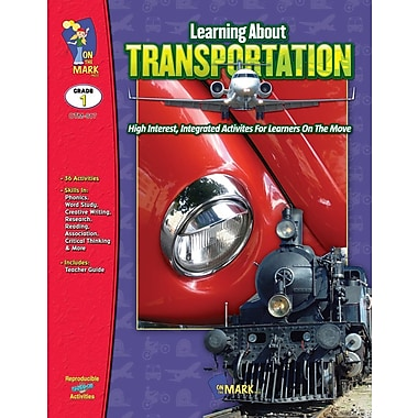 Learning About Transportation, Grade 1