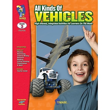 All Kinds of Vehicles, Grade 3