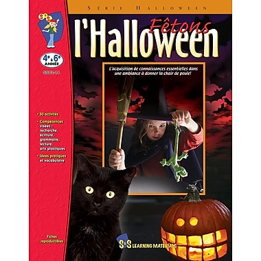 Celebrate Halloween!, Grades 4-6 (French Book)