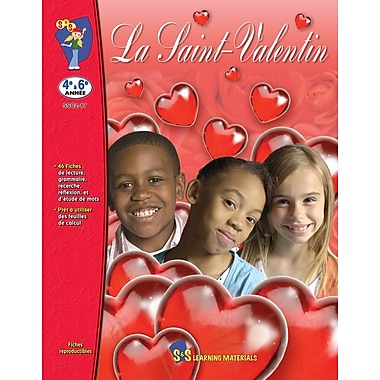 Valentine's Day, Grades 5-8 (French Book)