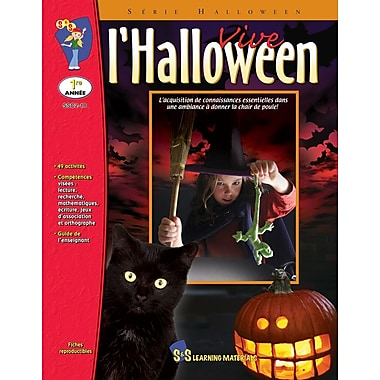 Halloween is here, Grade 1 (French Book)