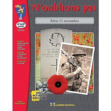 Let's Remember, Grades 4-6 (French Book)