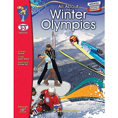 All About the Winter Olympics, Grade 2-3