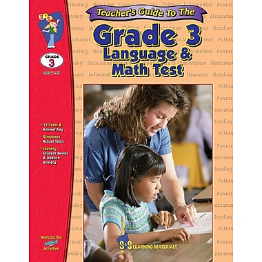 Teacher's Guide for Grade 3 Language and Math Tests