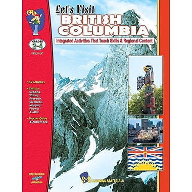 Let's Visit British Columbia, Grade 2-4
