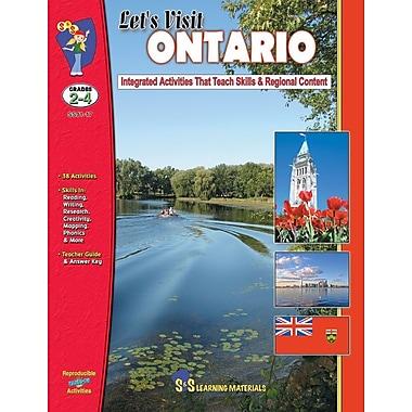 Let's Visit Ontario, Grade 2-4