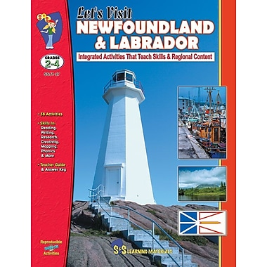 Let's Visit Newfoundland and Labrador, Grade 2-4