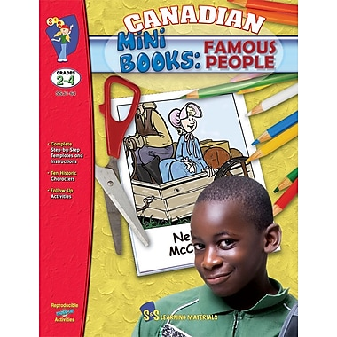 Canadian Mini Books - Famous Canadians, Grade 2-4