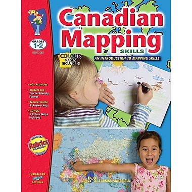 Canadian Mapping - Introduction to Mapping, Grade 1-2