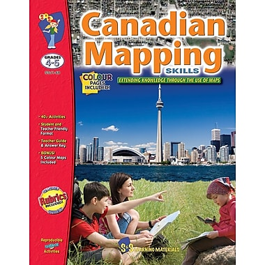 Canadian Mapping - Extending Knowledge, Grade 4-5
