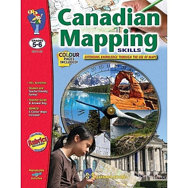 Canadian Mapping - Extending Knowledge, Grade 5-6