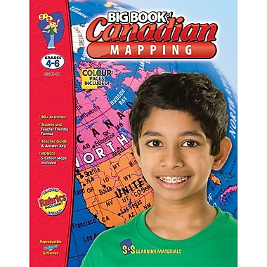 Big Book of Canadian Mapping, Grade 4-6