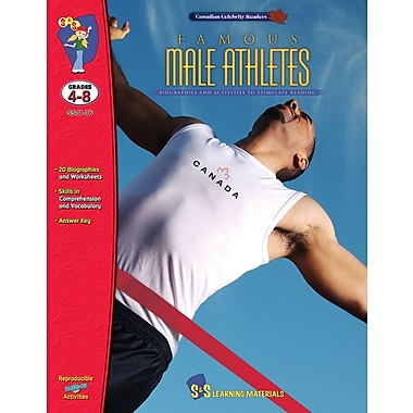 Famous: Male Athletes, Grade 4-8