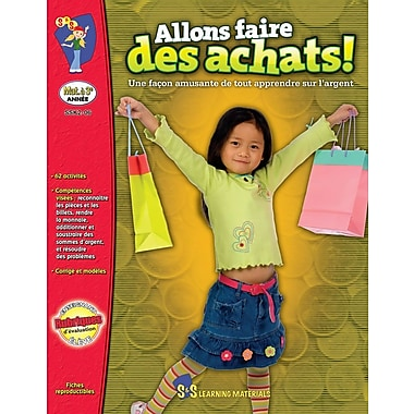 Let's Go Shopping! (French Book)