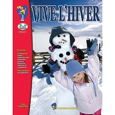 Winter is Here, Grades 3-4 (French Book)