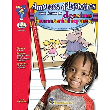 Let the Stories Begin : Cartoons, Grades 1-3 (French Book)