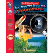 Literacy via mystery and adventure, Grades 4-6 (French Book)