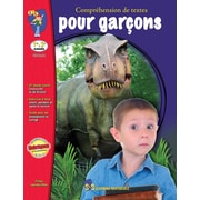 Reading Comprehension for boys, Grades 1-3 (French Book)