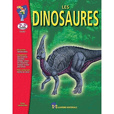 Dinosaurs, Grade 2 (French Book)