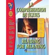 La compréhension de textes/Reading for Meaning : livre d'activités bilingue de connaissances, 1re à 3e années
