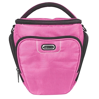 Bower® Dazzle Series Large Camera/Video Bag, Pink