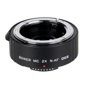 Bower® SX4DG Digital Autofocus Multi Coated 2x Teleconverter for Nikon F Lens