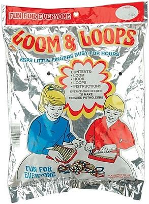 Wool Novelty Weaving Finger Loom & Loops