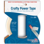 "3L 1/4"" x 81' Crafty Power Tape With Built-in Dispenser"