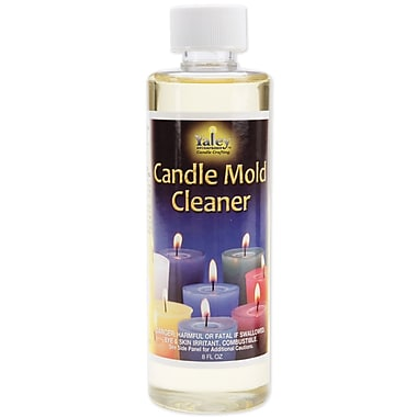 Yaley 110280 Clear Candle Mold Cleaner Bottle, 6.16