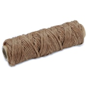 Tandy Leather Factory 361300 Brown Braided Artificial Sinew, 20 yd.