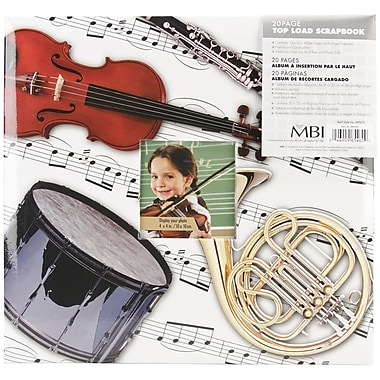 MBI Sport & Hobby Postbound Album, 12