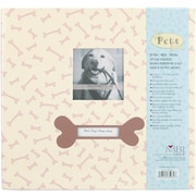 "MBI Pet Dog Postbound Album, 12"" x 12"", Cream"