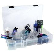 Creative Options® Pro Latch Utility Box, Clear With Black Latch