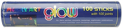Darice 1096-09Assorted Glow Sticks Party Tube, 10.5