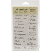 "Stampers Anonymous 6"" x 4"" Inky Antics Clear Stamp Set, Magnificent Men"