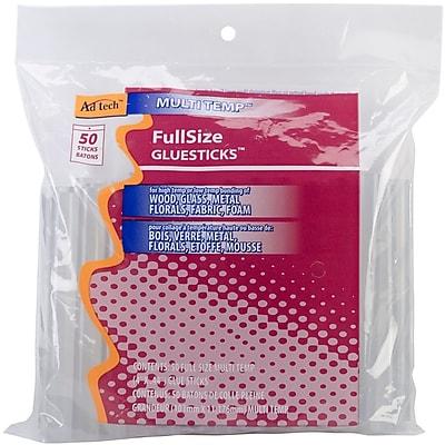 Ad-Tech High Temp Full Size Hot Melt Sticks, 50/Pack
