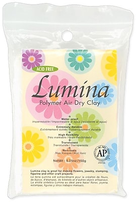 Activa® Translucent Lumina Polymer Air Dry Clay, 5.29 oz.,