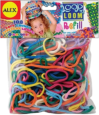 Alex® Toys Multi Colors Loop 'n Loom Refill